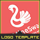 Swan - Logo Template - GraphicRiver Item for Sale