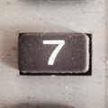 Nember Seven - PhotoDune Item for Sale