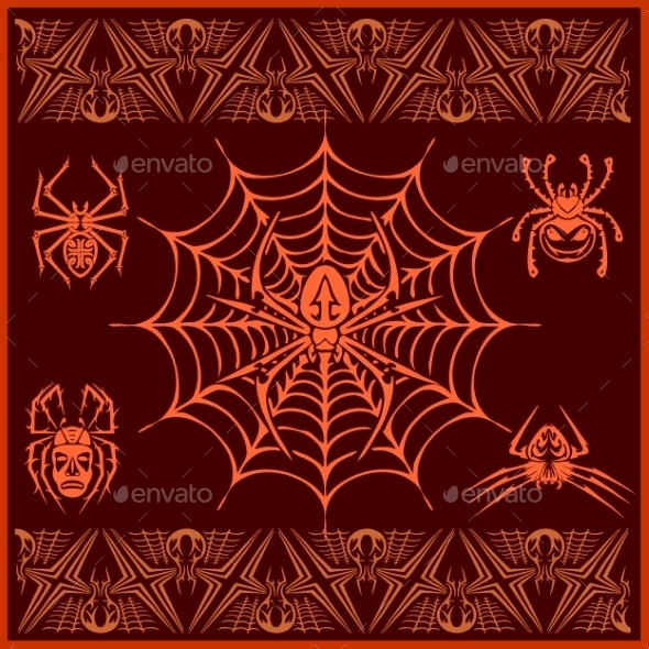 GraphicRiver Spiders 10763390