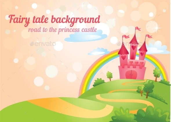 GraphicRiver Fairy Tale Castle 10763653
