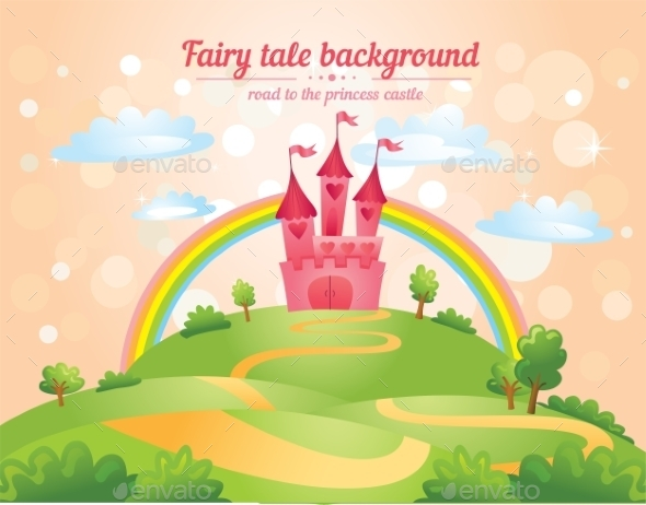 GraphicRiver Fairy Tale Castle 10763664