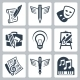 Art Related Icons - GraphicRiver Item for Sale