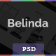Belinda - Portfolio PSD - ThemeForest Item for Sale