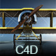 Fokker DII Aircraft - 3DOcean Item for Sale