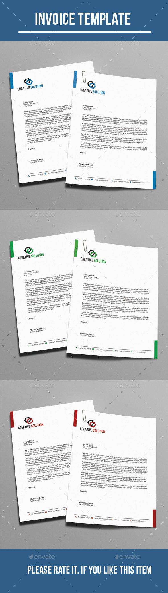 GraphicRiver Corporate Letterhead 10764848