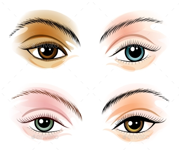 GraphicRiver Eye Set 10765241