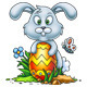 Cute Little Easter Bunny - GraphicRiver Item for Sale