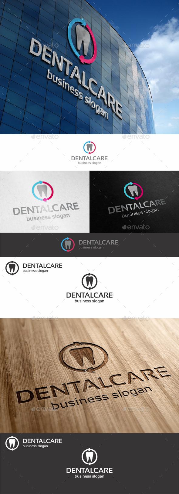 GraphicRiver Dental Care Logo 10765314
