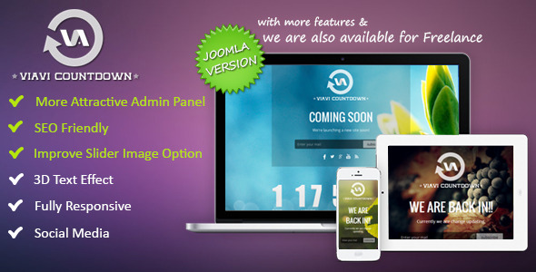 CodeCanyon Viavi Countdown Joomla 10765356