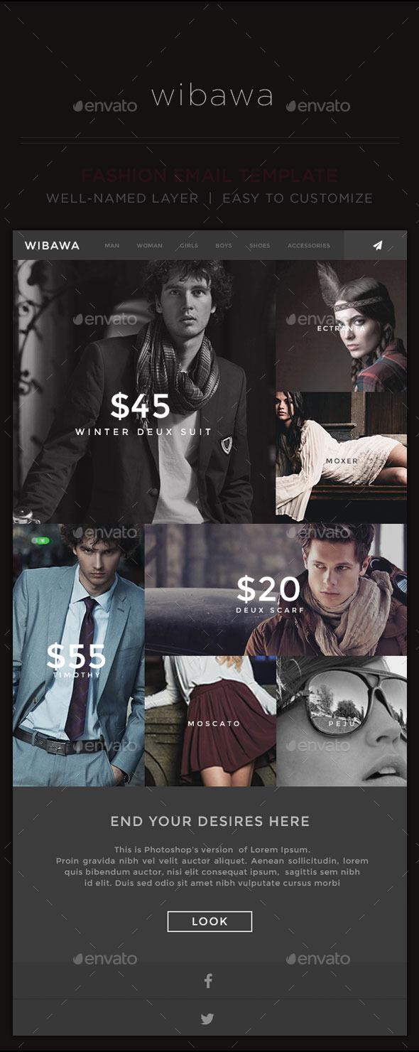GraphicRiver Fashion E-Newsletter 10765381