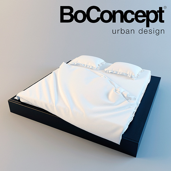 3DOcean BoConcept Bed Limo 10765632