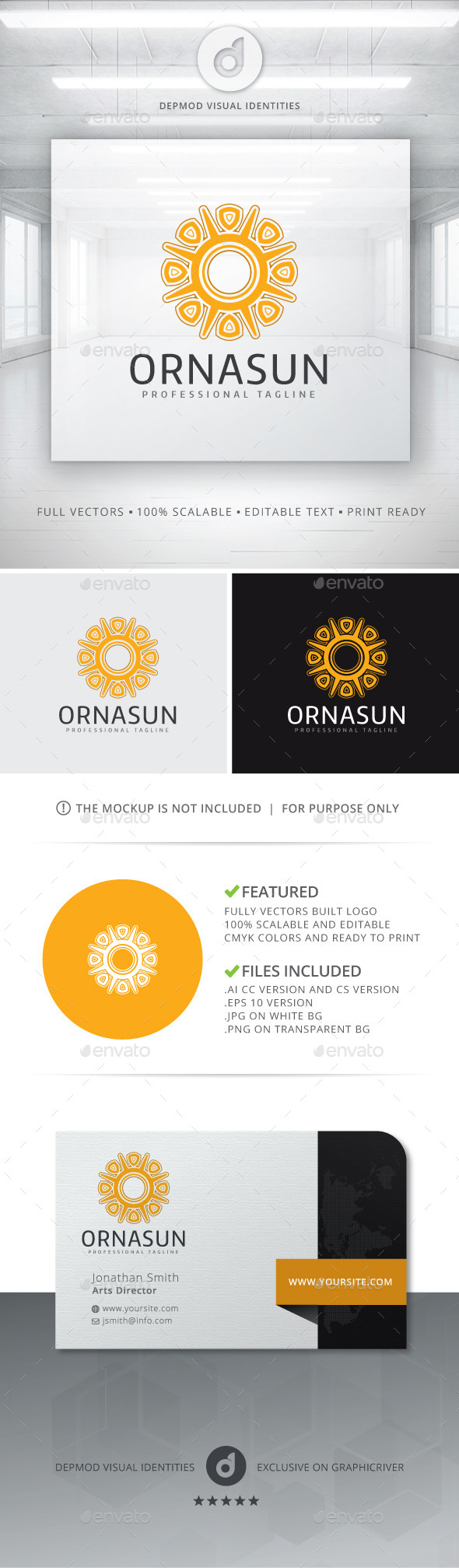 GraphicRiver Ornasun Logo 10765690