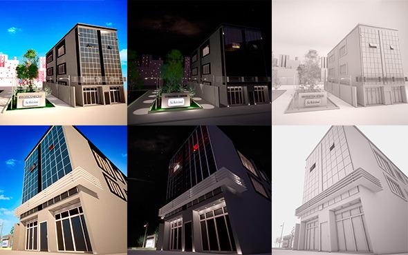 3DOcean Buisness Building 10765703