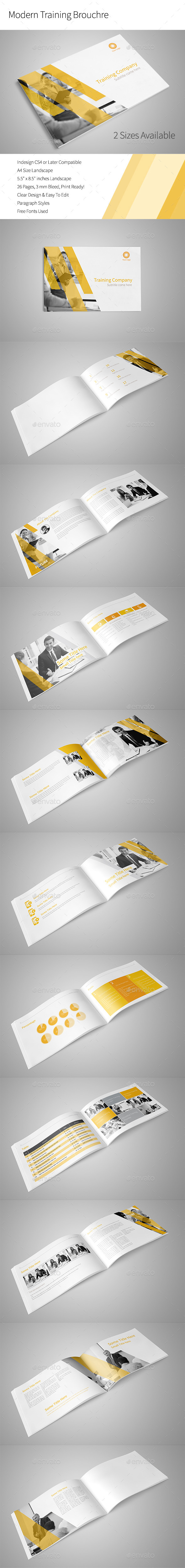 GraphicRiver Modern Training Brochure 10683386