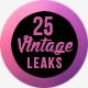 25 Vintage Light Leaks - VideoHive Item for Sale