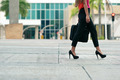 Business woman commuting going to office by walk - PhotoDune Item for Sale