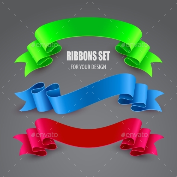 GraphicRiver Set of Ribbons 10766907