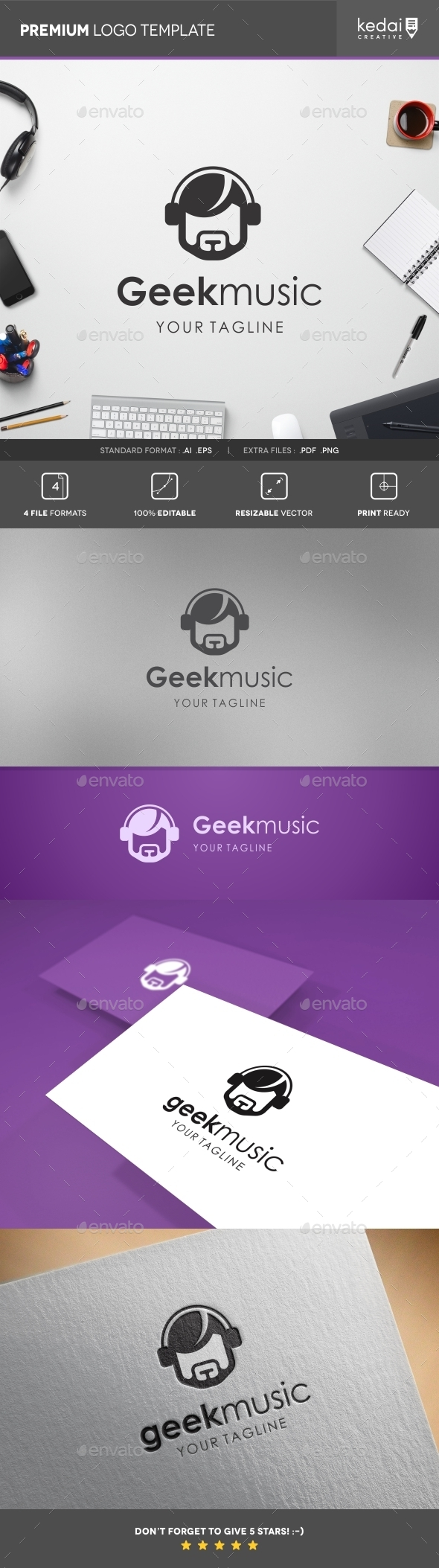 GraphicRiver Geek Music 10766946