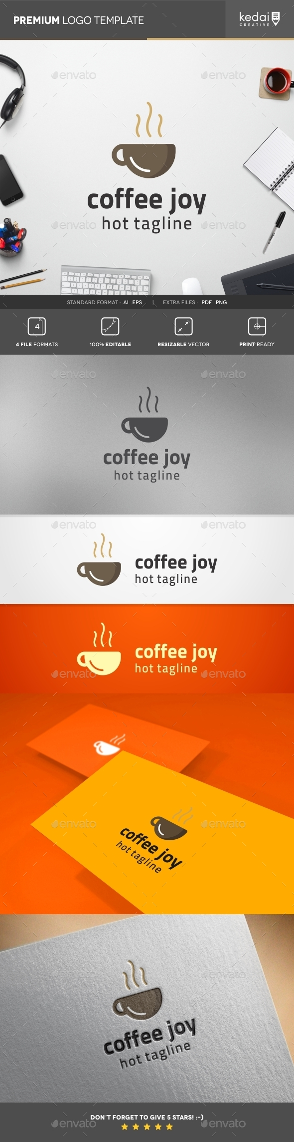 GraphicRiver Coffe Joy 10766986