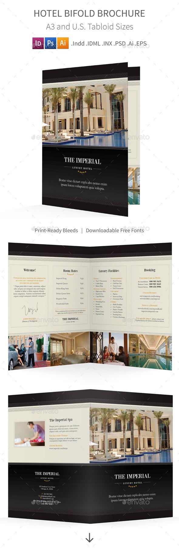 GraphicRiver Hotel Bifold Halffold Brochure 10767016
