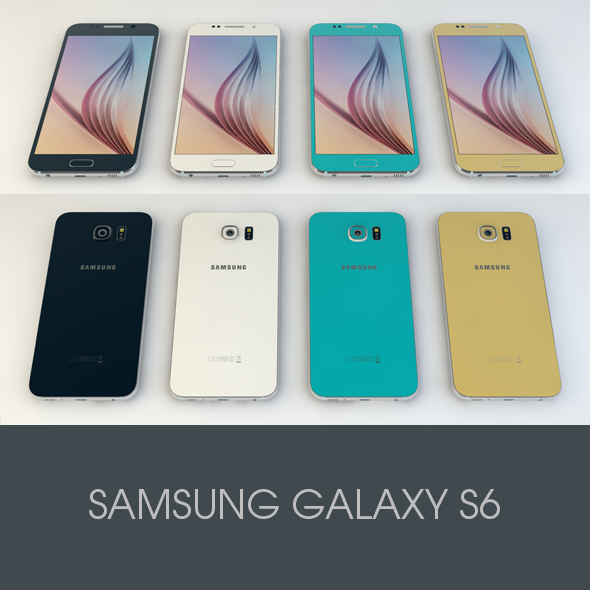 3DOcean Samsung GALAXY S6 10767052