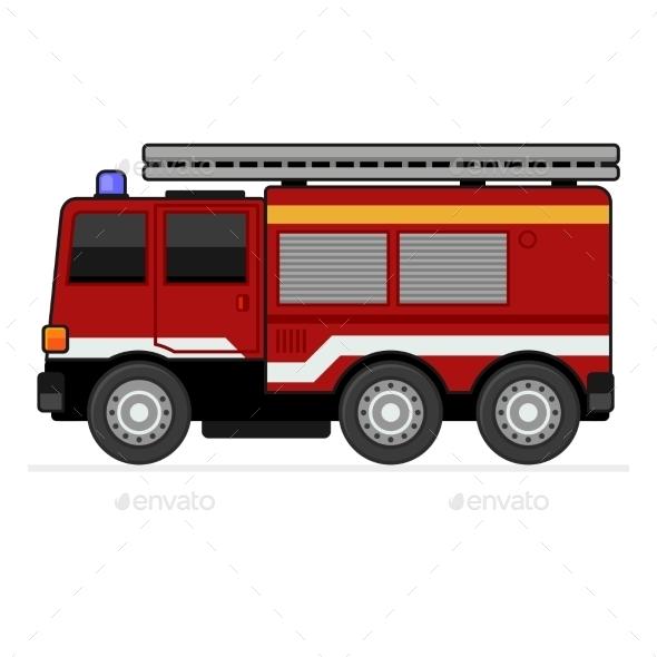 GraphicRiver Fire Truck 10767088
