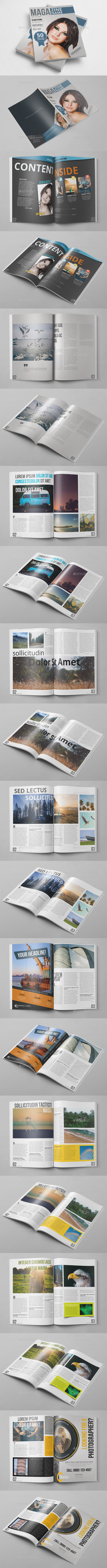 GraphicRiver 20 Pages Photoshop Magazine 10767223