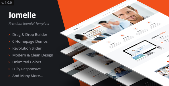 ThemeForest Jomelle Multipurpose Business Joomla Template 10767400
