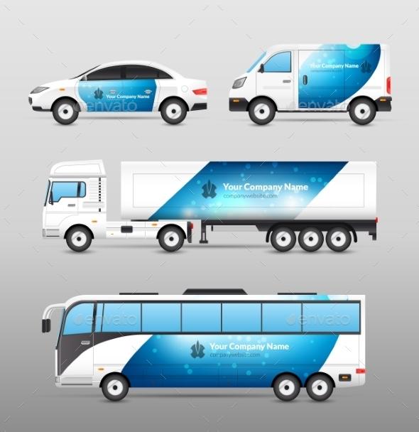 GraphicRiver Transport Advertisement Design 10767659