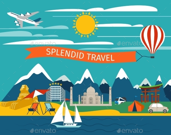 GraphicRiver Splendid Travel Background 10768523