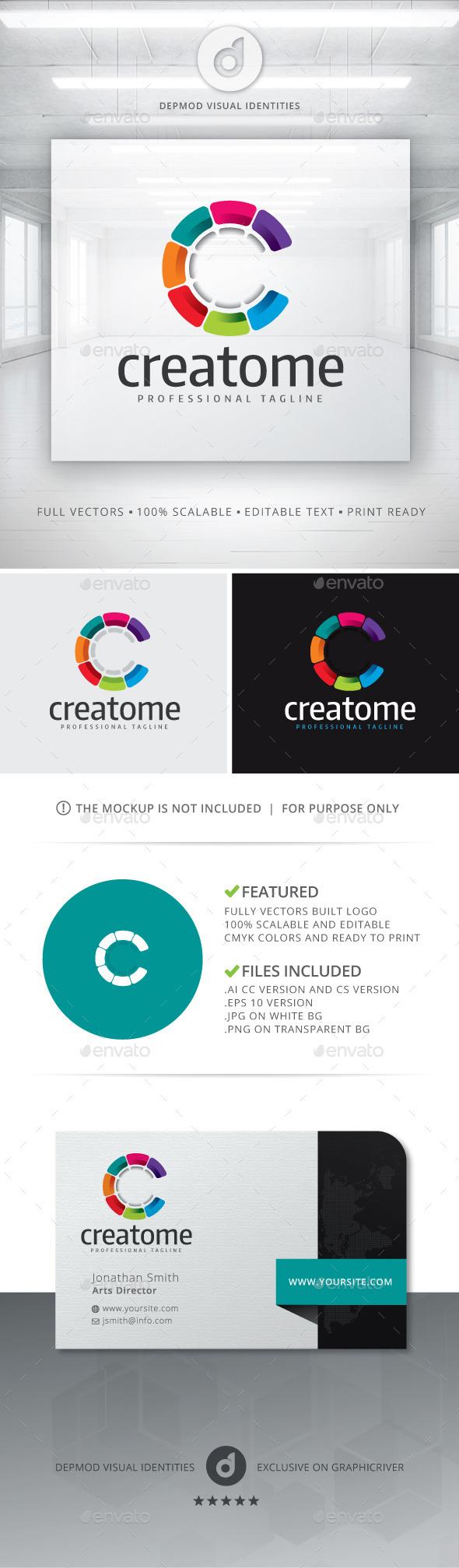 GraphicRiver Creatome Logo 10768905
