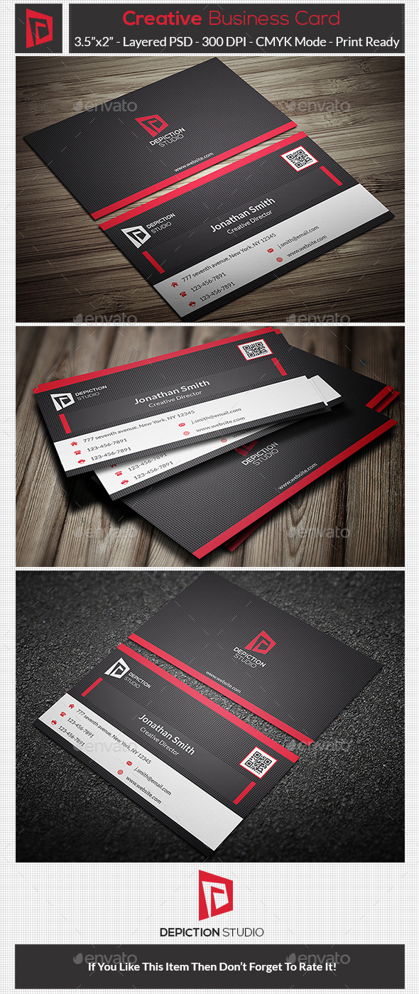 GraphicRiver Creative Business Card 10769230