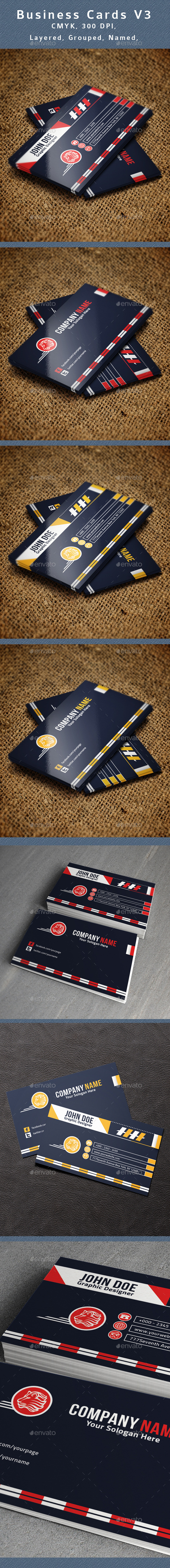 GraphicRiver Creative Business Card V3 10769423