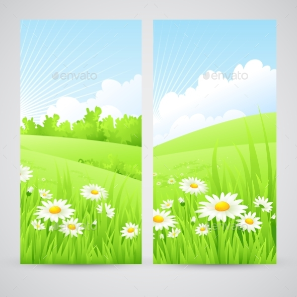 GraphicRiver Spring Scenery 10769578