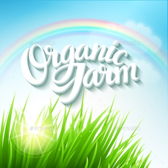 GraphicRiver Organic Farm Logo 10769582