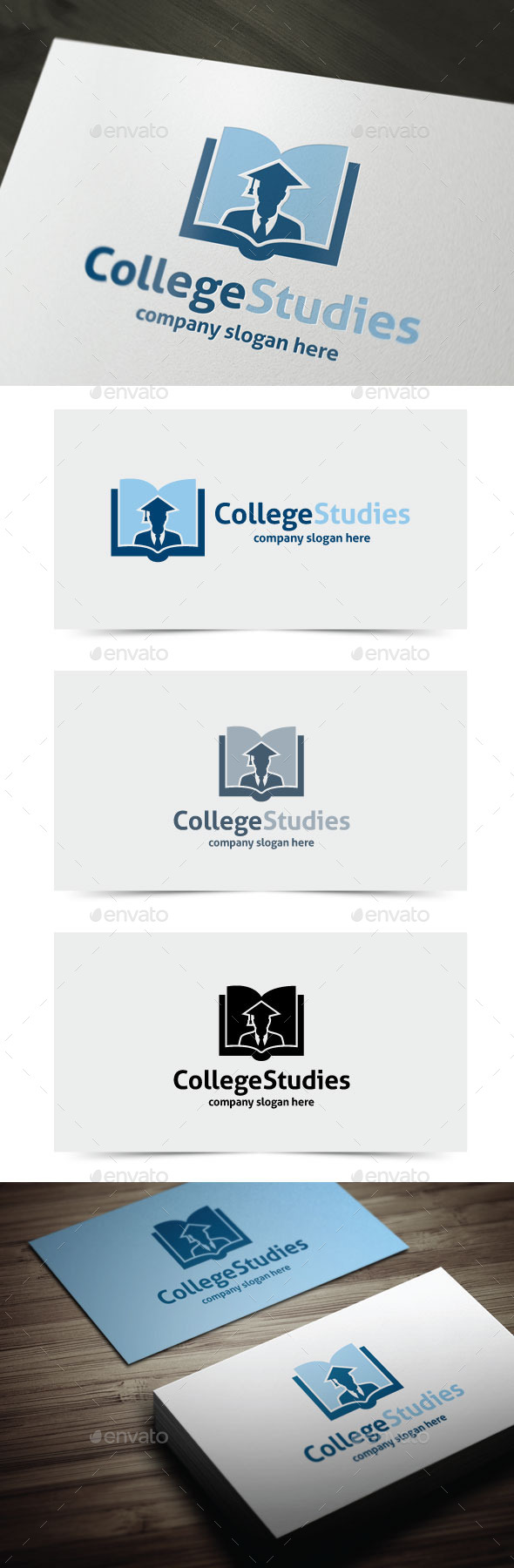GraphicRiver College Studies 10769604