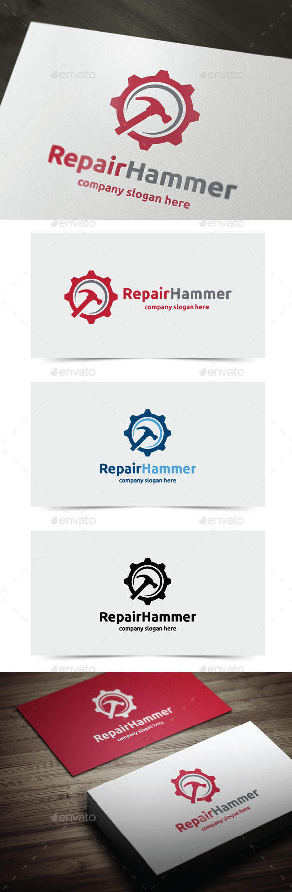 GraphicRiver Repair Hammer 10769615