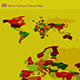 3D World Political Planet Map - 3DOcean Item for Sale