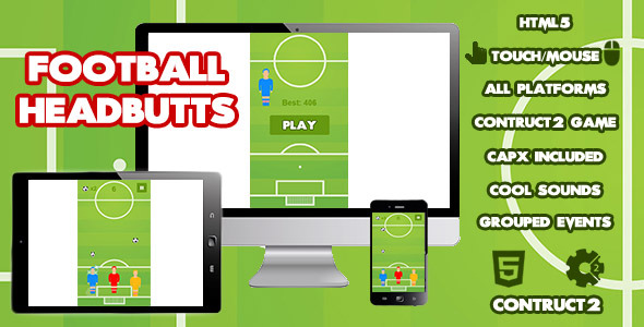 CodeCanyon Football Headbutts Sports Game 10769676