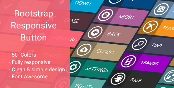 CodeCanyon Bootstrap Responsive Button 10769971