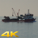 Symmetrical Flat Parallel Going Fishing Ship - VideoHive Item for Sale