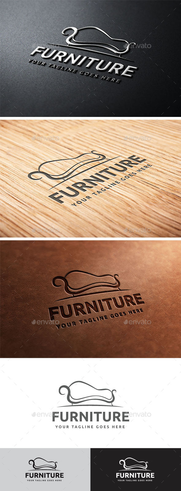 GraphicRiver Furniture Logo 10770840