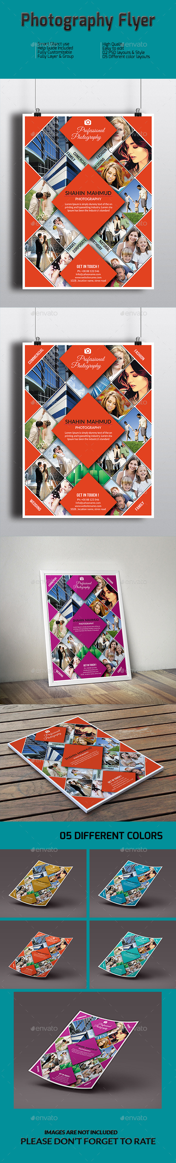 GraphicRiver PHOTOGRAPHY FLYER 10771049
