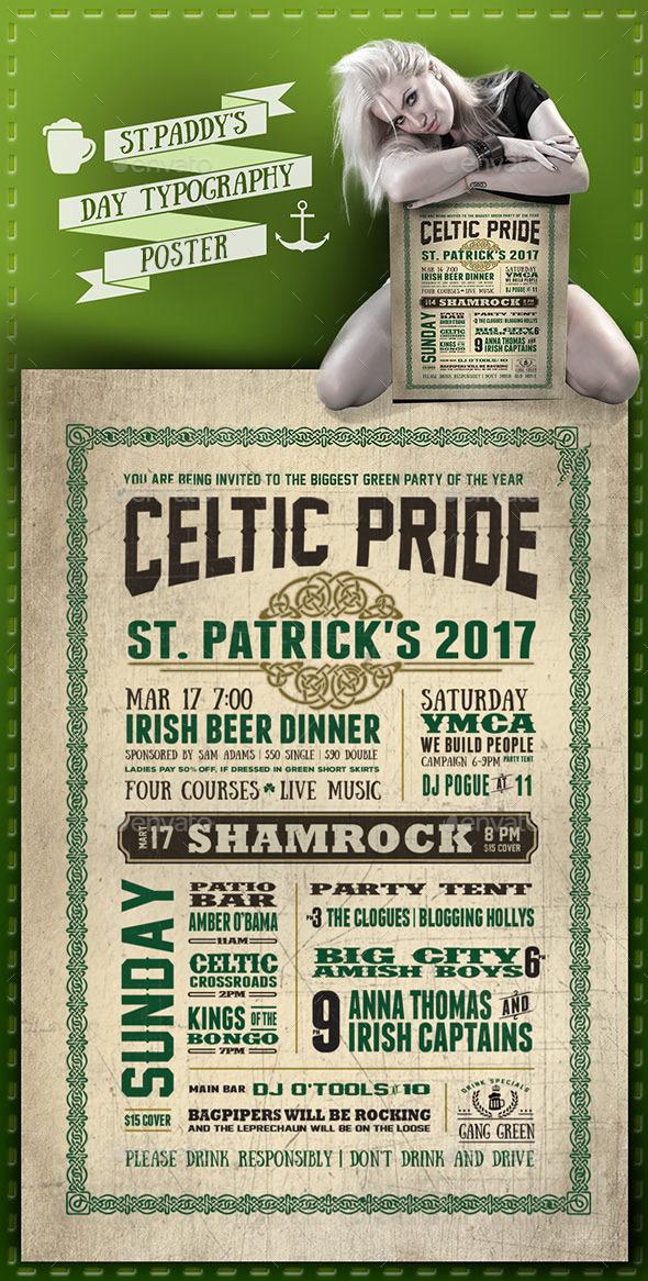 GraphicRiver St Patricks Day Poster 10706491