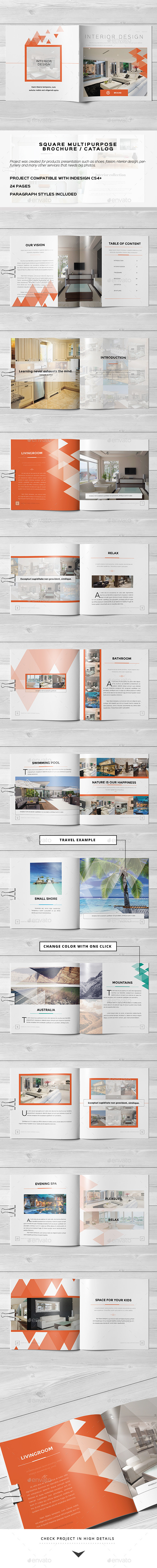 GraphicRiver Multipurpose Square Brochure 10771118