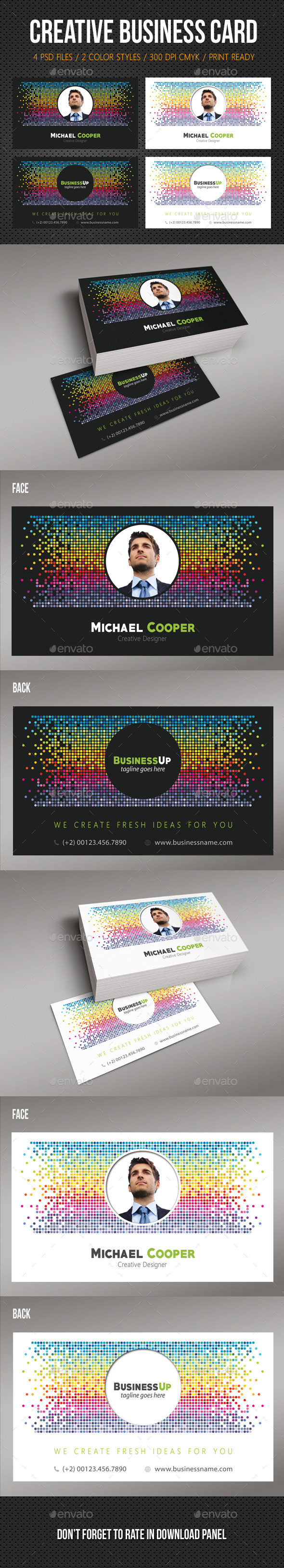 GraphicRiver Creative Business Card 06 10771244