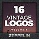 Vintage Logos Set 6 - GraphicRiver Item for Sale