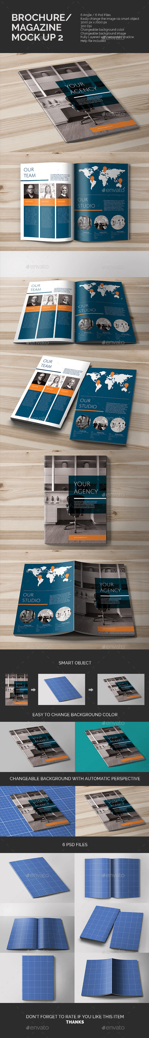 GraphicRiver Brochure Mock-up 10771644