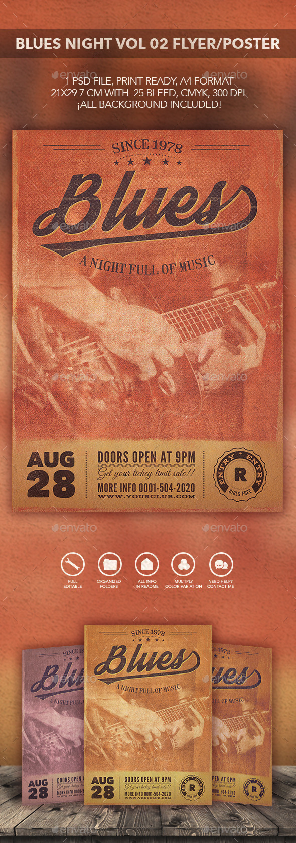 GraphicRiver Blues Music Flyer Poster vol 02 10771979