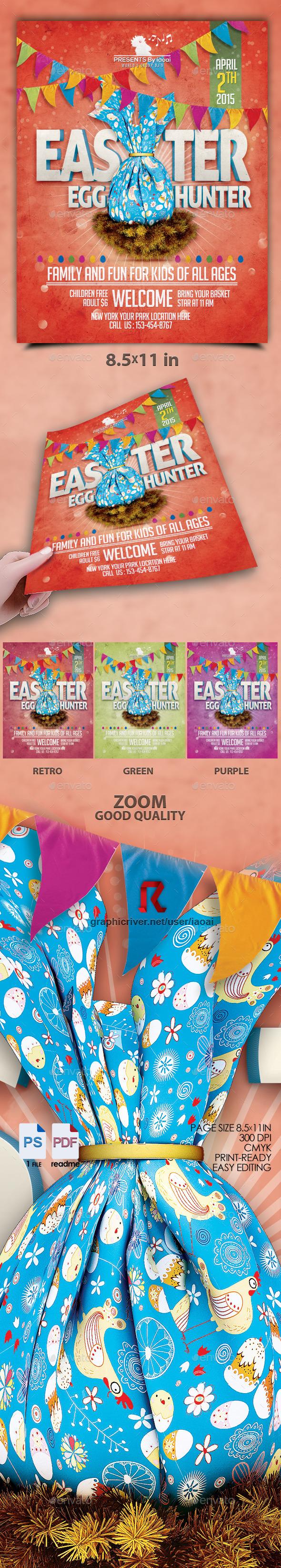 GraphicRiver Easter Egg Flyer Vol 1 10772384